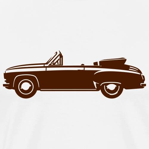 Vintage car cabriolet - Men's Premium T-Shirt