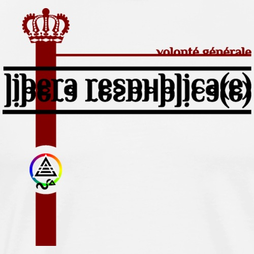 Libera Respublica(e) - Männer Premium T-Shirt