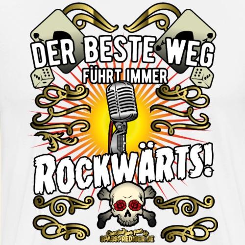 Rock Music Shirt ROCKWÄRTS - Männer Premium T-Shirt