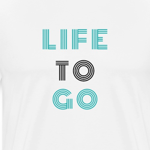 Life to go Colour - by Life to go - Männer Premium T-Shirt