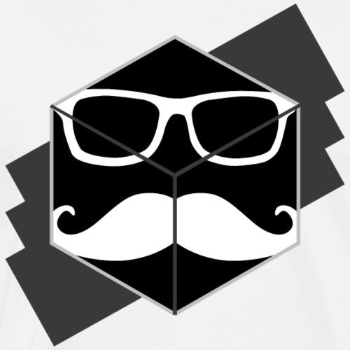 Mustache Cube - Männer Premium T-Shirt
