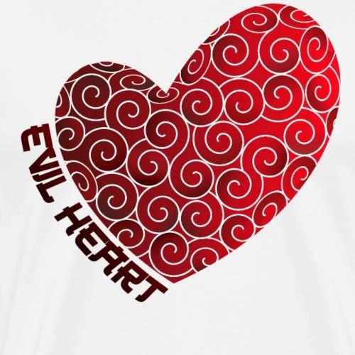 Evil Heart - Camiseta premium hombre