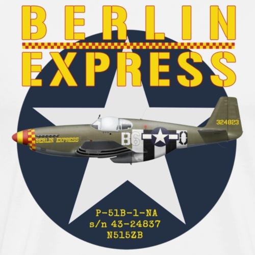 P-51B Berlin Express - Men's Premium T-Shirt