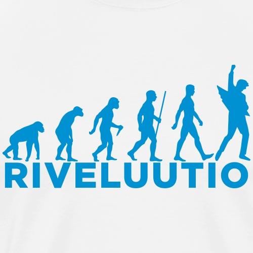 Riveluutio - Miesten premium t-paita