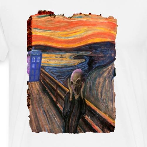 Screaming Tardis - Men's Premium T-Shirt