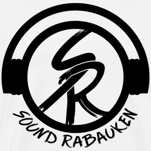 Sound Rabauken Logo schwarz - Männer Premium T-Shirt