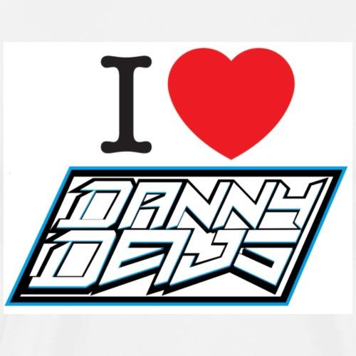 I Love Danny Deijs - Mannen Premium T-shirt