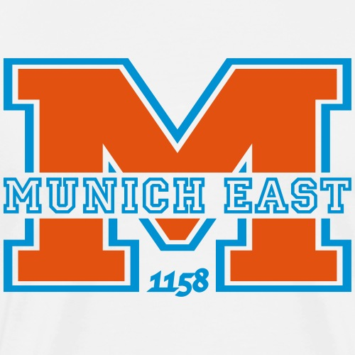MUNICH EAST - Männer Premium T-Shirt