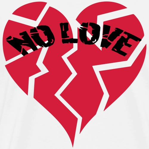 No Love 2 - Men's Premium T-Shirt