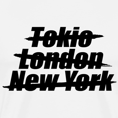 Dein/e Stadt/Dorf - personalisierbare Fanartikel - Männer Premium T-Shirt