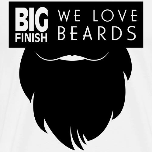 We_Love_Beards - Men's Premium T-Shirt