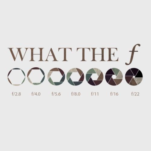 WT F-Stop F-Number Objektiv Blende Fotografen - Men's Premium T-Shirt