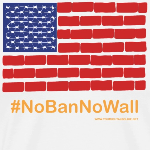 American US flag - Men's Premium T-Shirt
