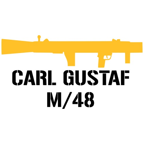 Carl Gustaf m/48 - Premium-T-shirt herr