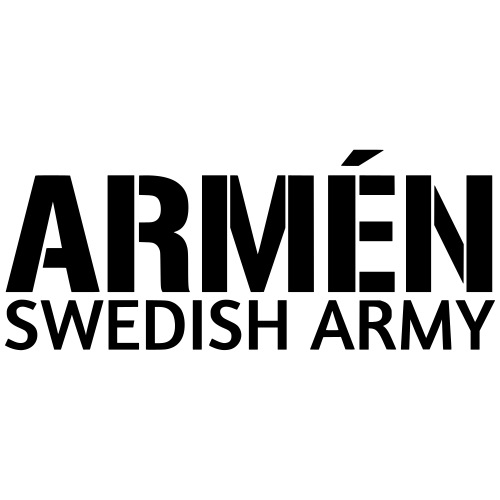 Armén - Swedish Army - Premium-T-shirt herr