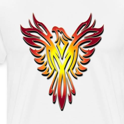 Retro Phoenix - Men's Premium T-Shirt