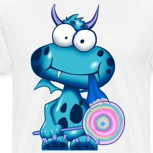 Lolli Olli Monsta sig blue - Männer Premium T-Shirt