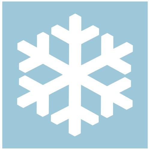 Schneelover Logo - Männer Premium T-Shirt