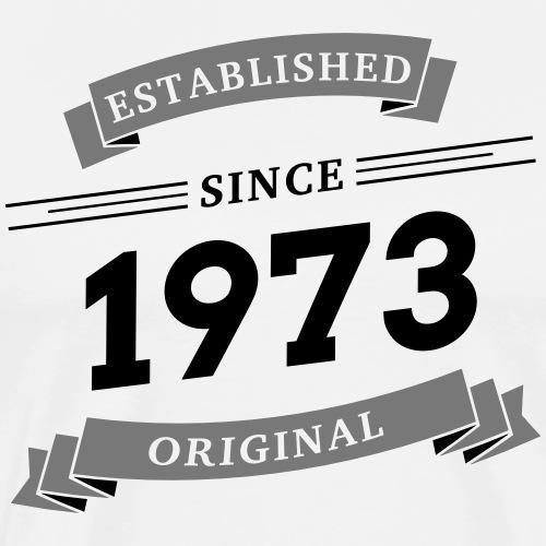 Established since 1973 - Männer Premium T-Shirt