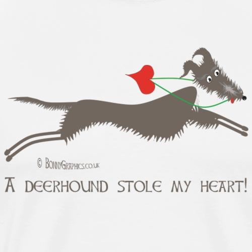 Deerhound thief - Men's Premium T-Shirt