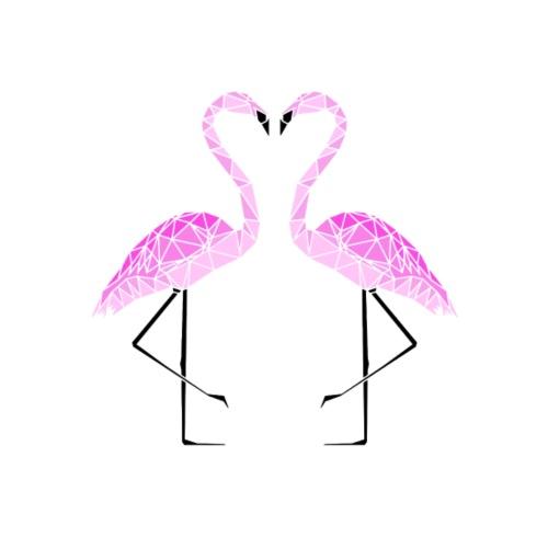 FLAMINGO - Maglietta Premium da uomo
