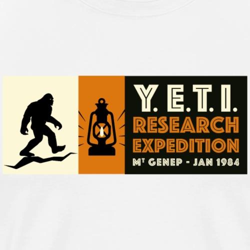 A la recherche du Yeti - T-shirt Premium Homme