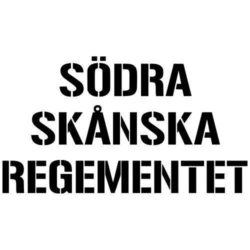 Södra Skånska Regementet - Premium-T-shirt herr