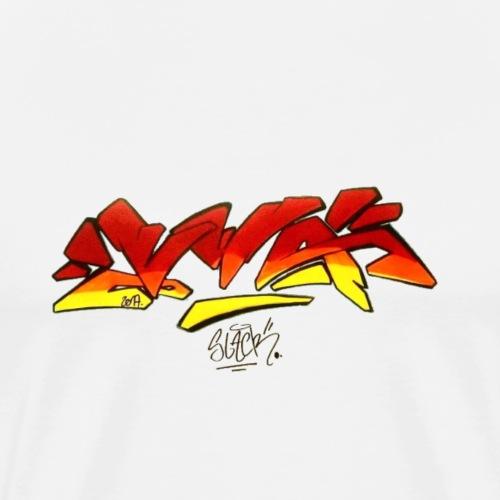 VWA by vandalwithattitude crew - T-shirt Premium Homme