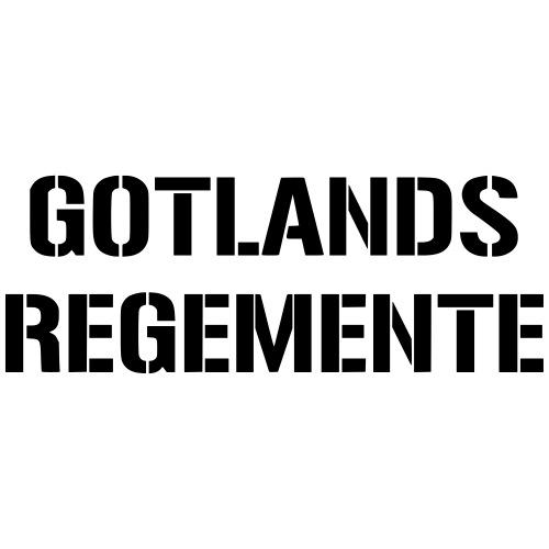 Gotlands Regemente - Premium-T-shirt herr