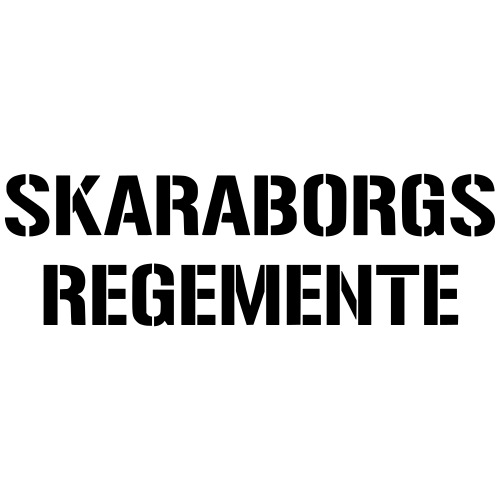 Skaraborgs Regemente - Premium-T-shirt herr