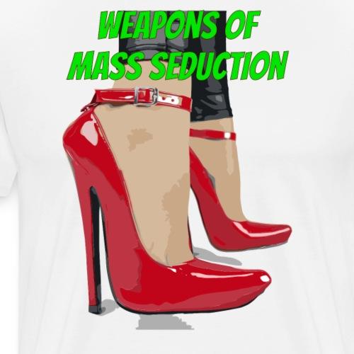 weapons of mass seduction - Maglietta Premium da uomo