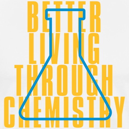 Better living Chemistry 03 - Mannen Premium T-shirt