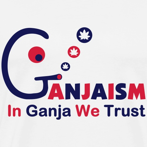 In Ganja We Trust - Men's Premium T-Shirt