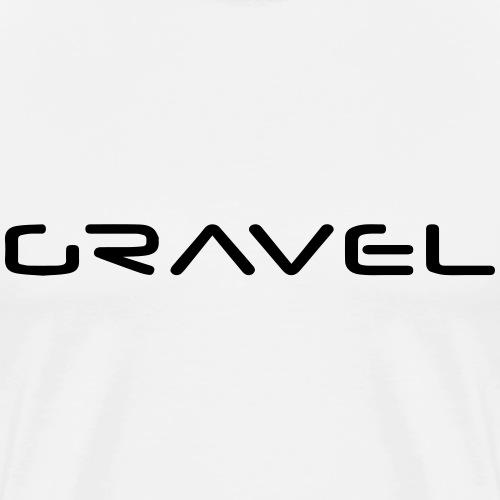 Gravel - Männer Premium T-Shirt