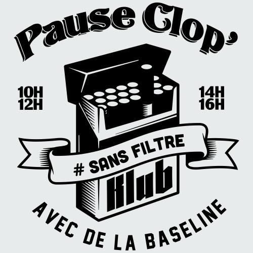 Pause Clop' - LE KLUB - T-shirt Premium Homme