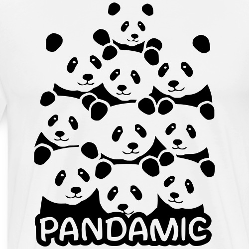 Pandamic - Männer Premium T-Shirt