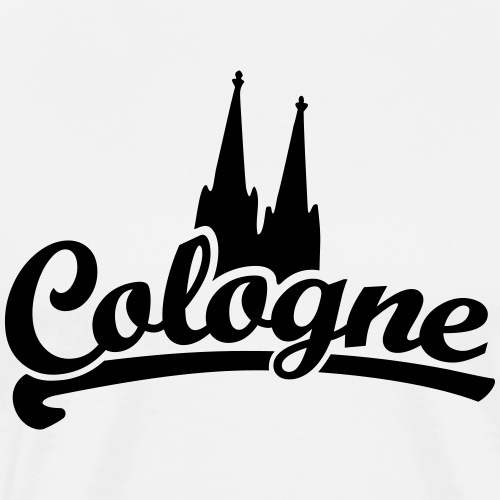 Cologne Classic Dom - Köln mit Kölner Dom - Männer Premium T-Shirt