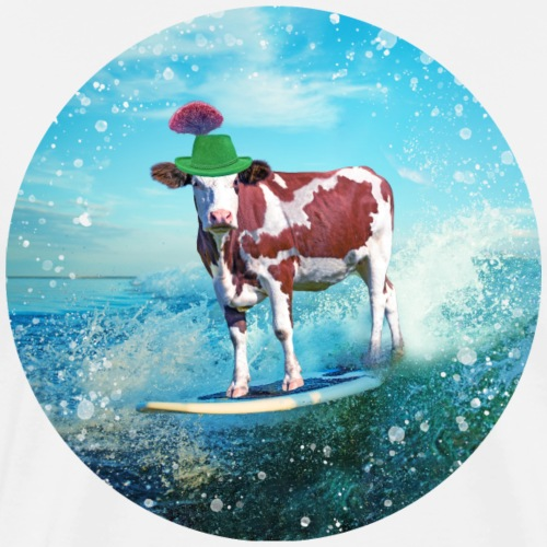 Cowstria goes surfing
