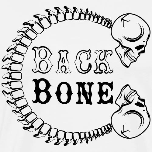 logo BlackBone noir - T-shirt Premium Homme
