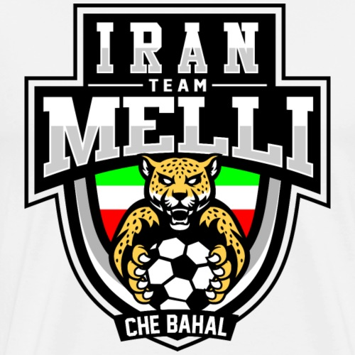 IRAN Team Melli - Männer Premium T-Shirt