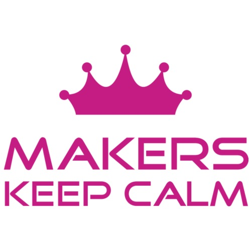 keep calm | Makers | Pink - Männer Premium T-Shirt