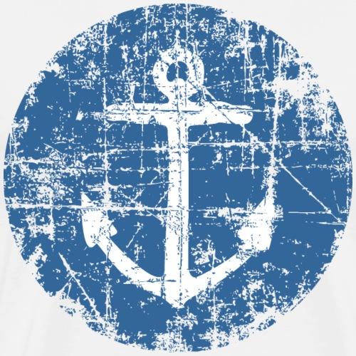 Anker Schild Segel Design für Segler - Männer Premium T-Shirt