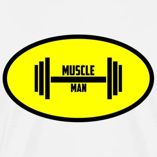 Muscle Man - Männer Premium T-Shirt