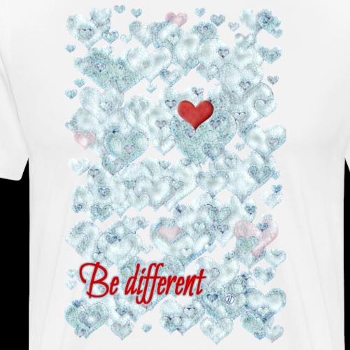 Be different - Maglietta Premium da uomo