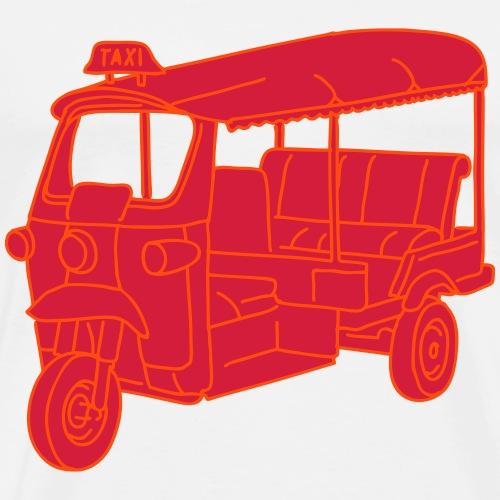 Autorikscha Tuktuk 2 - Männer Premium T-Shirt