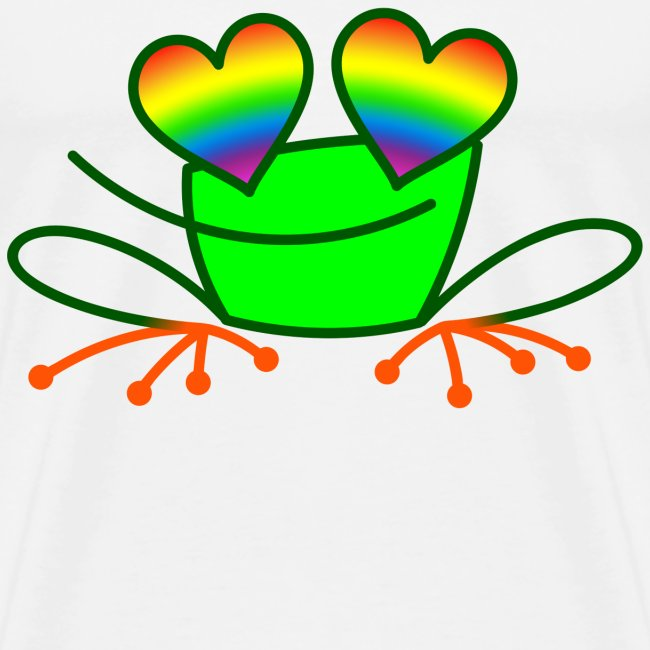 Pride Frog in Love