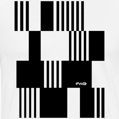 The beauty of pixels - Men's Premium T-Shirt