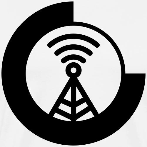 CRD Logo - Mannen Premium T-shirt