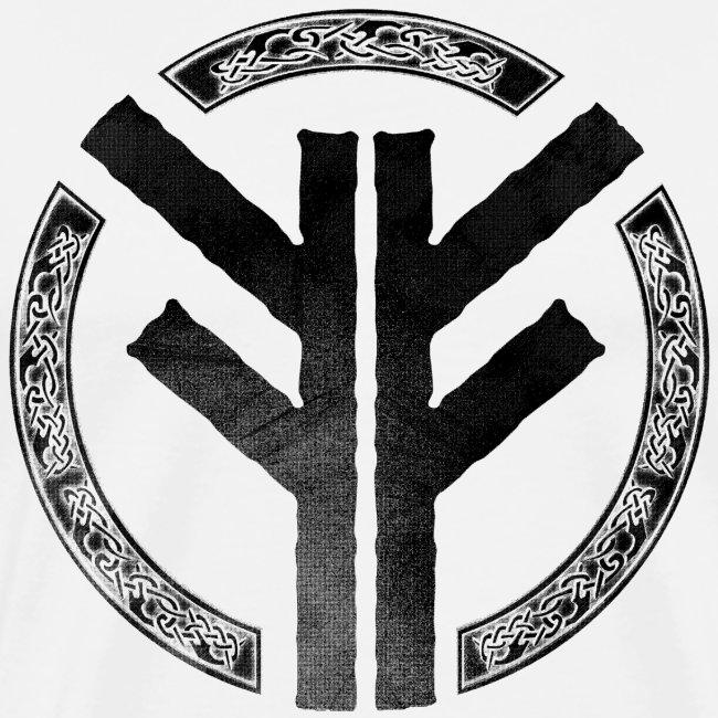 Forefather symbol black