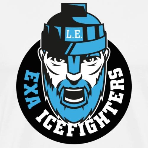 EXA IceFighters Logo - Männer Premium T-Shirt